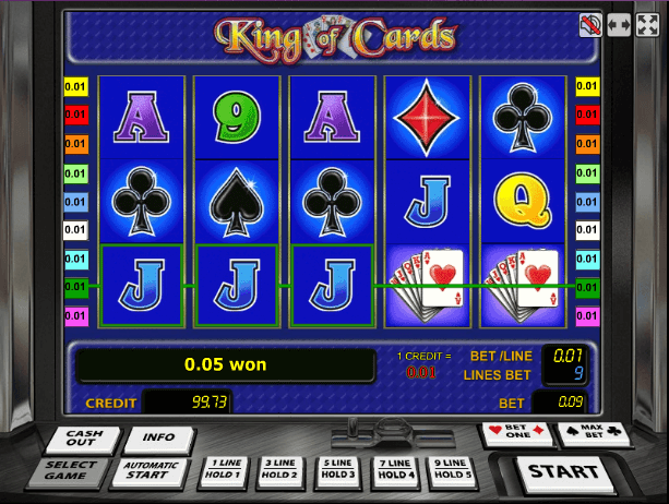Играть в автомат King of Cards / Король карт
