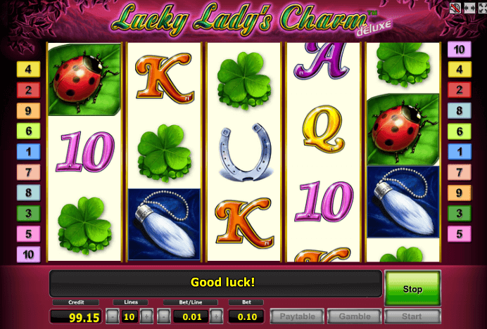 Lucky ladys charm Deluxe / Леди шарм делюкс
