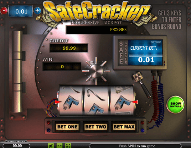 Играть в автомат Safe Cracker / Взломщик сейфов