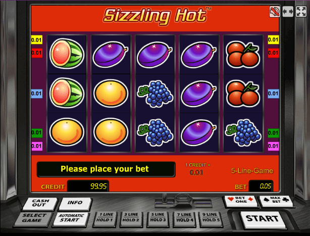 Sizzling Hot Deluxe / Компот Делюкс