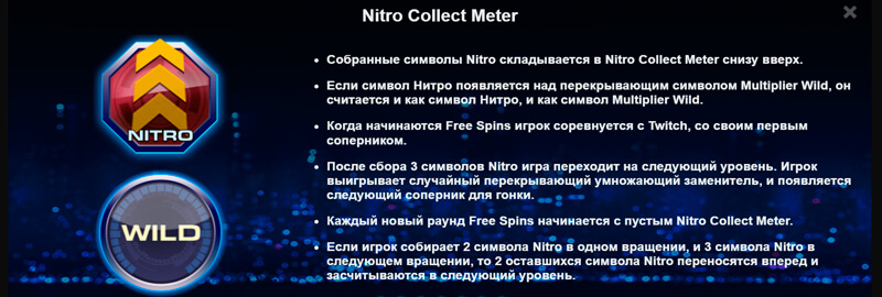 Drive Nitro Collect Meter